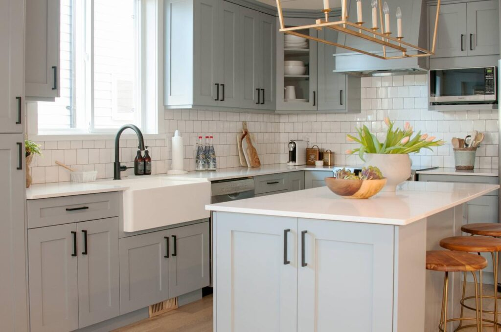 Are Grey Kitchen Cabinets Better Than White Warline Painting Ltd